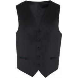 Schwarzes Kleid Weste