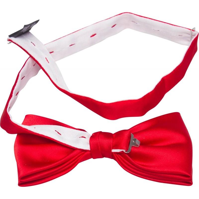 kaufen sie eine rote fliege mit einem einstecktuch in der. Black Bedroom Furniture Sets. Home Design Ideas