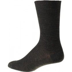 Kt Socke - ohne elastisch - Dunkelgrau