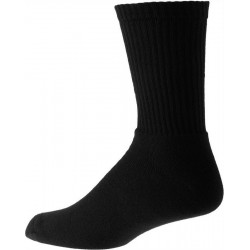 Dicke schwarze Herren Socken aus Baumwolle