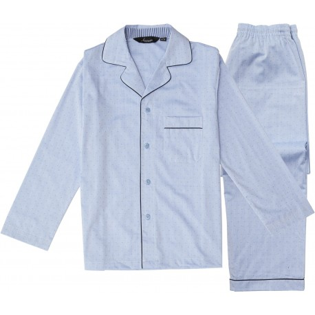 Burgundy Herren Pyjama