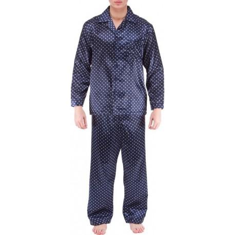Gestreift Blau Schlafanzug