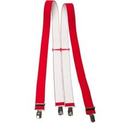 Breiten roten Hosenträger