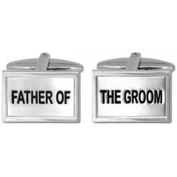 Manschettenknöpfe Vater des Bräutigams
