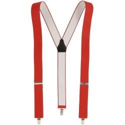 Rote breite y Hosenträger