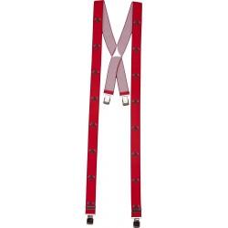 Breite Hosenträger mit Feuerwehrmann-Motiv