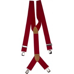 extra breiten roten Hosenträger