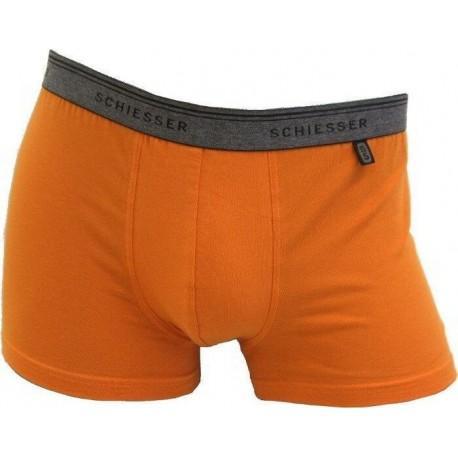 Orange Schiesser 95/5 Boxershorts
