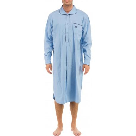 Hellblau Nachthemd