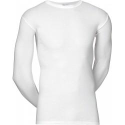 Weiß JBS Unterhemd mit langen Ärmeln